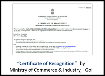 Certification of Recognition